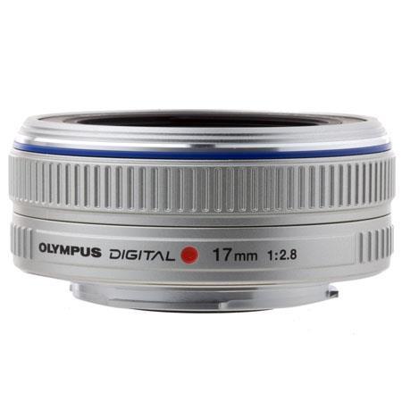 Olympus M Zuiko Digital f Lens Silver Micro Four Thirds System 109 - 449