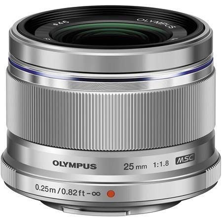 Olympus M Zuiko Digital f Lens Silver Micro Four Thirds System 168 - 694