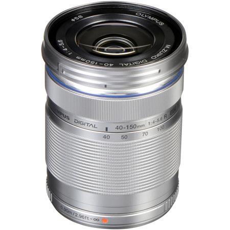 Olympus M Zuiko Digital ED f R Zoom Lens Silver Micro Four Thirds System 137 - 740