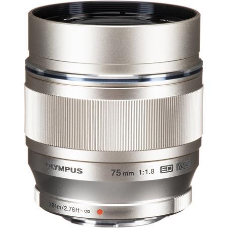 Olympus M Zuiko Digital f Lens Silver Micro Four Thirds System 66 - 326