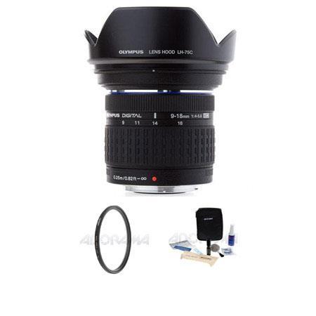 Olympus Zuiko f E ED Digital Lens Tiffen UV Wide Angle Filter Digital Camera Lens Cleaning Kit 70 - 473