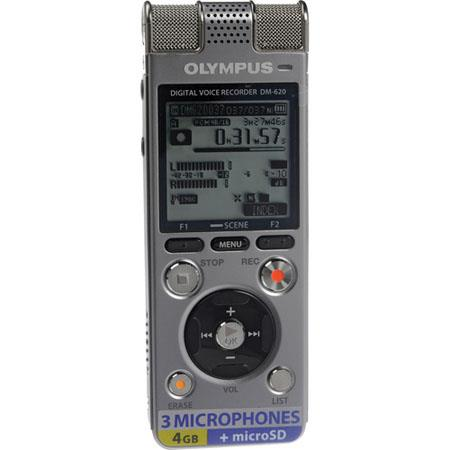 Olympus DM PCM Recorder Internal GB Memory Built In Dynamic Speaker Tresmic Microphone System 34 - 463