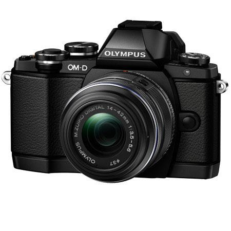 Olympus E M Digital Interchangeable Lens Camera MZuiko Digital f IIR Lens MP Touch LCD Wi Fi USB HDM 139 - 458