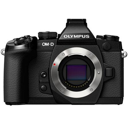 Olympus OMD E M Mirrorless Micro Four Thirds Camera Body Only MP Full Tilting Wide Monitor sec Shutt 77 - 84