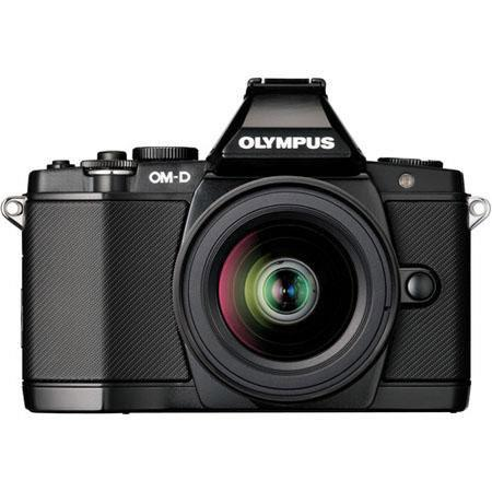 Olympus OM D E M Mirrorless Digital Camera Olympus f EZ Zoom Lens 42 - 673