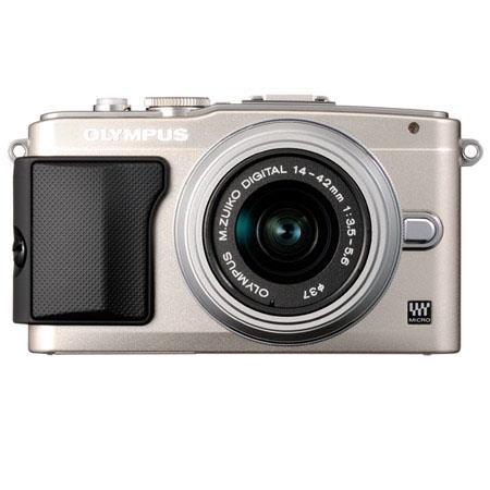 Olympus E PL Mirrorless Digital Camera f Lens Flip Portrait LCD Full i HD Video Silver 70 - 473