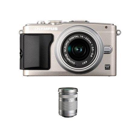 Olympus E PL Mirrorless Digital Camera f Lens Silver Bundle Olympus MZuiko Digital ED mm f R Lens Si 211 - 41
