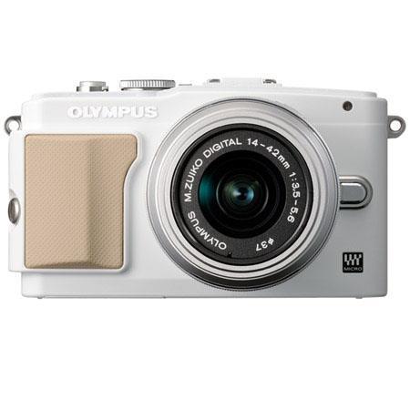 Olympus E PL Mirrorless Digital Camera f Lens Silver Flip Portrait LCD Full i HD Video  94 - 320