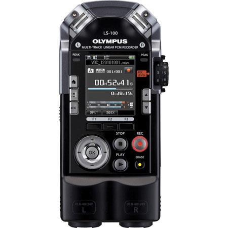 Olympus LS Bit KHz Multi Track PCM Recorder Supports Upto dBspl Sound Pressure GB Built In Flash Mem 51 - 462