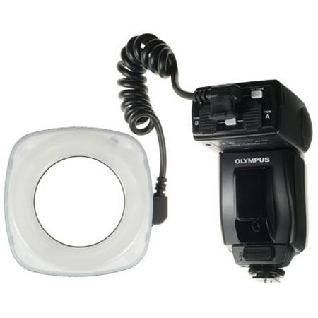 Olympus SRF TTL Ring Flash Set Guide Number of Feet Meters at ISO  194 - 766