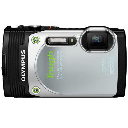 Olympus Stylus Tough TG Digital Camera MPOptical Zoom LCD Display HDMIUSB Face Detection Panorama iA 374 - 185