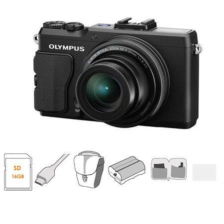Olympus XZ Digital Camera MP f Lens Bundle GB Class SDHC Memory Card Olympus Mini Messenger Bag Micr 301 - 79