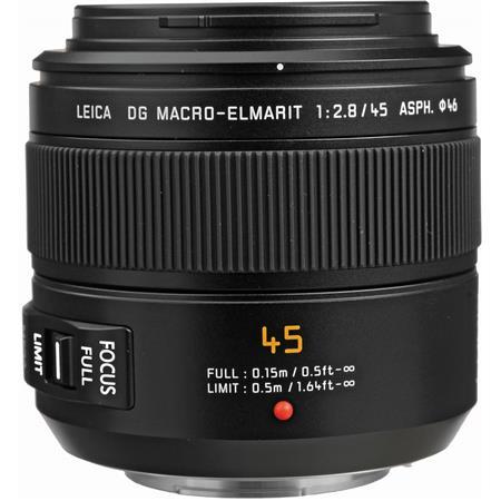 Panasonic f Leica DG Macro Elmarit Aspherical Lens Mega OIS Micro Four Thirds Lens Mount Systems 107 - 697