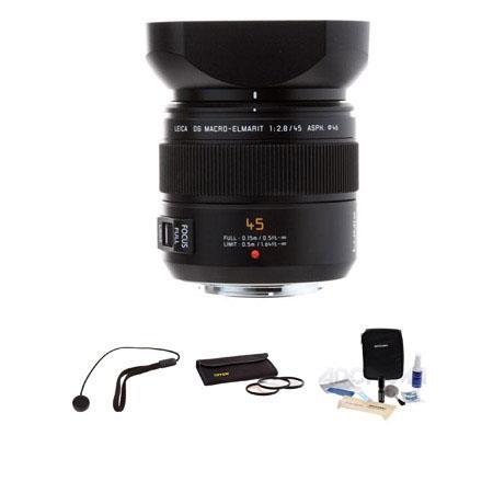 Panasonic f Leica DG Macro Elmarit Aspherical Lens Kit Mega OIS Micro Four Thirds Lens Mount Systems 63 - 725