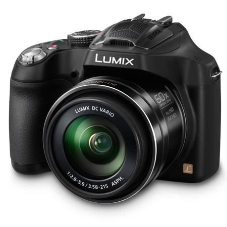 Panasonic LumiDMC FZ Digital Camera MP Focal LengthOptical Zoom Full HD i Recording Display Dolby Di 64 - 337