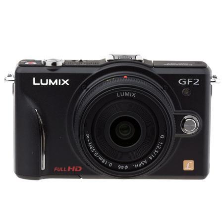 Panasonic LumiDMC GF Mirrorless Digital Camera f Lens  47 - 777