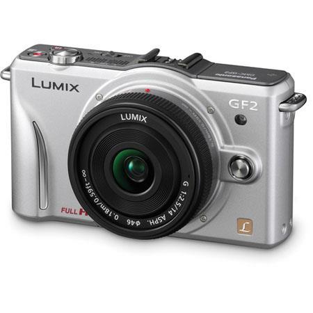 Panasonic LumiDMC GF Digital Camera Panasonic f Lens Silver 47 - 777