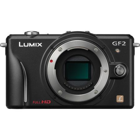 Panasonic LumiDMC GF Mirrorless Digital Camera Body MP Resolution LCD Display  74 - 526
