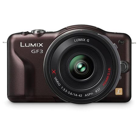 Panasonic LumiDMC GF Mirrorless Digital Camera Kit f f GX collapsible pancake zoom Lens 253 - 3