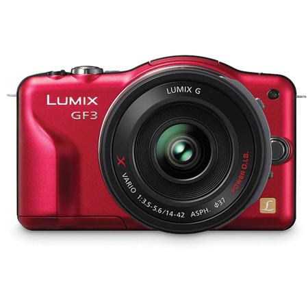 Panasonic LumiDMC GF Mirrorless Digital Camera Kit f f GX collapsible pancake zoom Lens 181 - 697