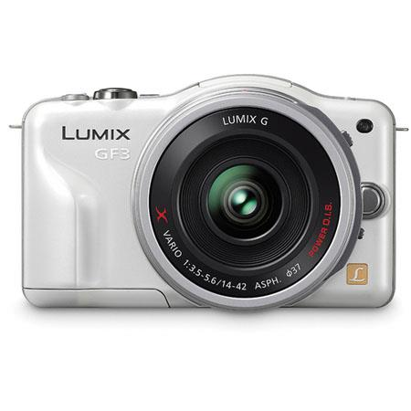 Panasonic LumiDMC GF Mirrorless Digital Camera Kit f f GX collapsible pancake zoom Silver Lens 181 - 697