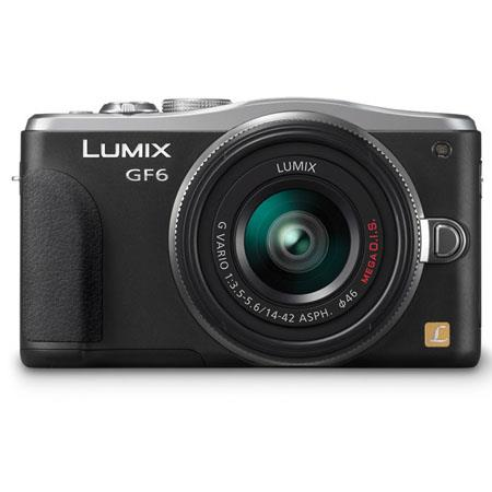 Panasonic LumiDMC GF Mirrorless Digital Camera F Lens MPDigital zoom TFT LCD Display USB  327 - 381