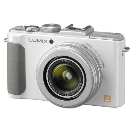 Panasonic LumiDMC LX Megapixel Digital Cameramm Wide Angle Leica Optical Zoom Lens FPS High Speed Co 146 - 702