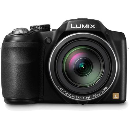 Panasonic LumiDMC LZ Digital Camera MP CCD SensorOptical Zoom Lens LCD p HD Video at fps 264 - 644