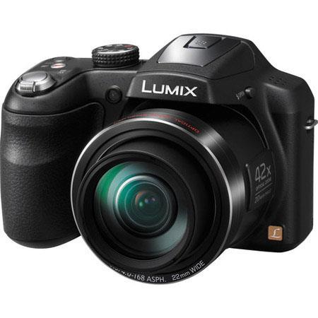 Panasonic LumiDMC LZ Digital Camera MPOptical Zoom K Dot LCD Display USB Panorama Filter Effects iA  156 - 309