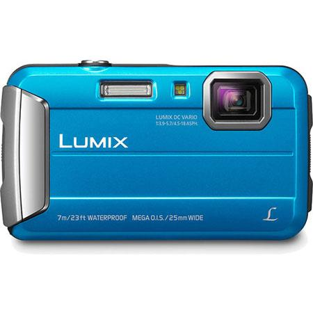 Panasonic LumiDMC TS Digital Camera MP CCD SensorOpticalDigital Zoom DC Vario Lens Blue 119 - 255