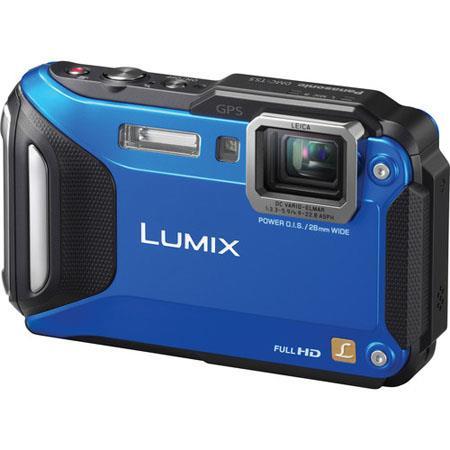 Panasonic LumiDMC TS Digital Camera MP CMOS SensorOptical Zoom TFT LCD Leica DC Vario Elmar Lens Blu 64 - 508