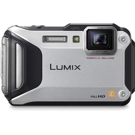 Panasonic LumiDMC TS Digital Camera MP CMOS SensorOptical Zoom TFT LCD Leica DC Vario Elmar Lens Sil 150 - 86