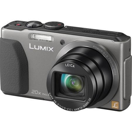 Panasonic LumiDMC ZS MP Digital Camera LCD Touch ScreenOptical Zoom Wi Fi NFC MOS Sensor Full HD Vid 234 - 385