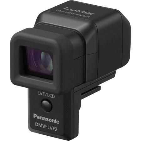Panasonic DMW LVF External Live Viewfinder DMC GX and DMC LX LumiDigital Camera Tilts to Deg 59 - 542