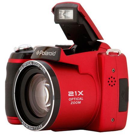 Polaroid IS MP Digital Still CameraOptical Zoom Lens Rear LCD Display  98 - 442
