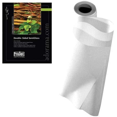 Projet Double Sided Semi Gloss Surface Inkjet Paper milRoll 120 - 235