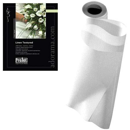 ProJet Elite Watercolor Linen Texture Archival Natural Inkjet Paper milRoll 65 - 186
