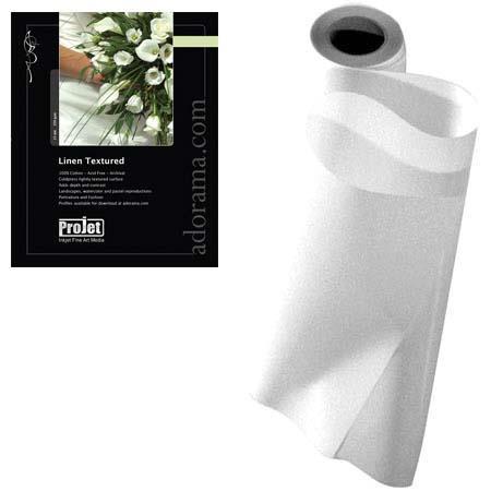 ProJet Elite Watercolor Linen Texture Archival Natural Inkjet Paper milRoll 222 - 548
