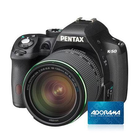 PentaK Digial SLR Camera DA WR Lens Bundle Adorama Gift Certificate 85 - 36