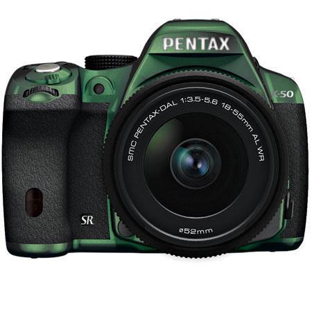 PentaK Digital SLR Camera DA L WR Lens Metal  116 - 608