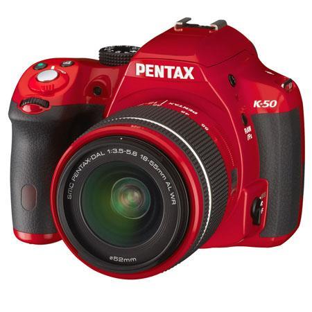 PentaK Digial SLR Camera PentaDA L WR Lens MP APS C CMOS Weatherproof Full p HD Movie K Mount Lens C 116 - 608