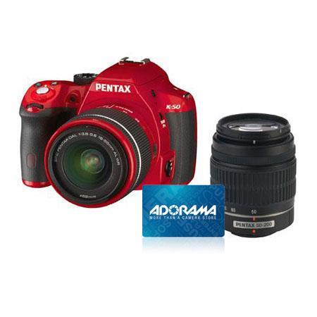 PentaK Digial SLR Camera DA L WR WR Lenses Bundle Adorama Gift Certificate 175 - 139
