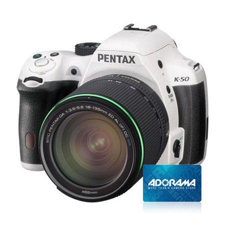 PentaK Digial SLR Camera DA WR Lens Bundle Adorama Gift Certificate 43 - 158