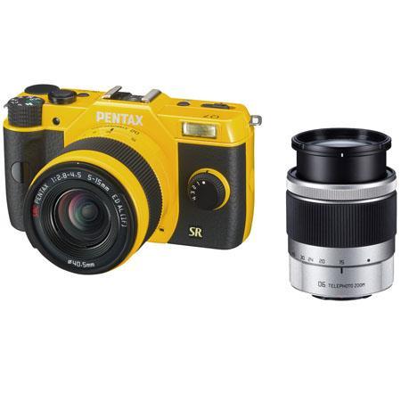 PENTAX Q Mirrorless Digital Camera mm equiv mm equiv Lenses  118 - 176