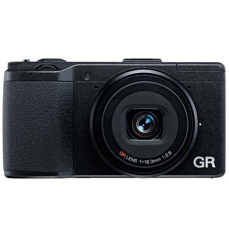 Ricoh GR Pocket Size Compact Digital Camera MP Full p HD Video Recording Transparent LCD USB HDMI 85 - 666