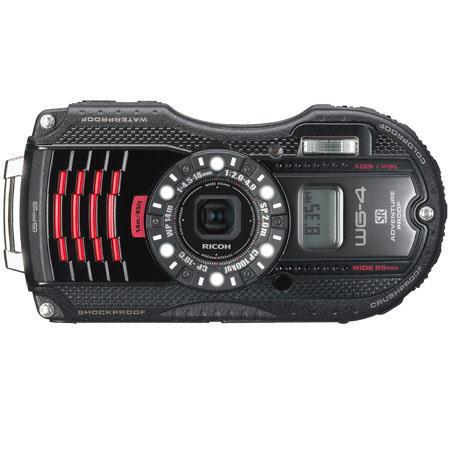 Ricoh WG GPS Digital Camera MPOptical f Lens LCD Full HD p HDMIUSB GPS Digital Compass  84 - 384