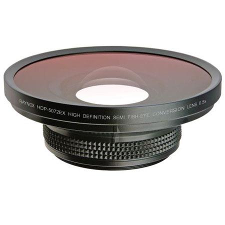 RaynoHDP EXHD Semi Fisheye Conversion Lens Filter Threads Front Lens Element 183 - 82