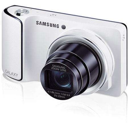 Samsung Galaxy GC Digital Camera MPOptical Zoom HD Super Clear Touch LCD Display Wi Fi and Verizon L 248 - 162
