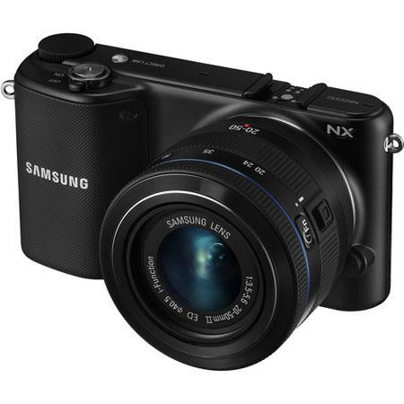 Samsung NX Mirrorless Digital Camera f Lens MP Full HD p Video Touchscreen LCD Monitor  61 - 588