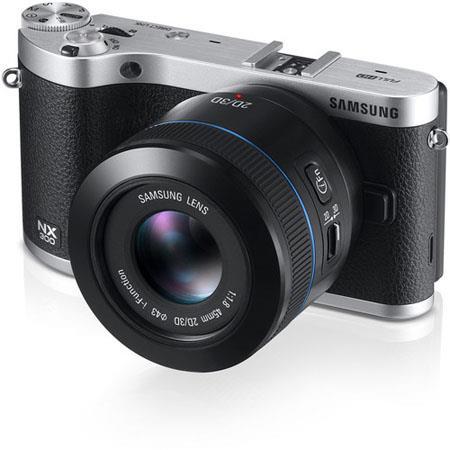 Samsung NX Mirrorless Digital Camera Samsung f T DD Lens 80 - 548